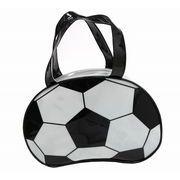 ◎【即納】ビニールボストンバッグ サッカーボール【プールバッグ】【キッズ】【子供用】
