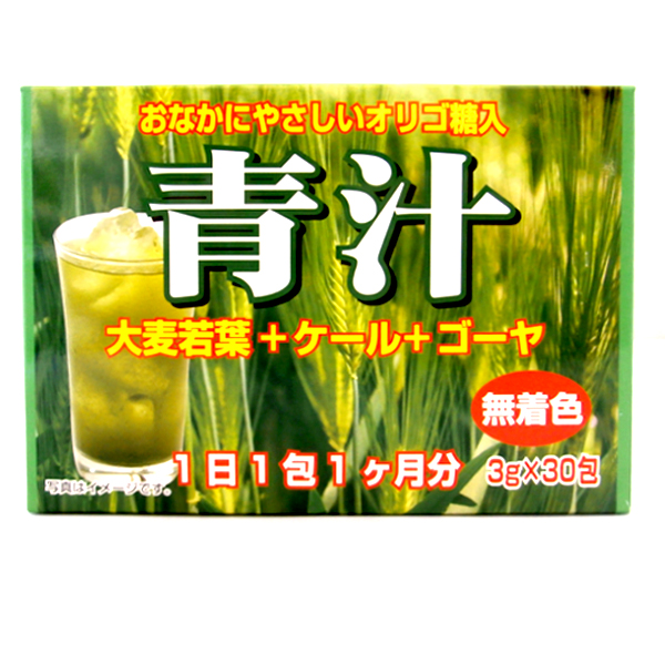 お腹にやさしいオリゴ糖入り青汁90g 箱/ケース 72入