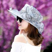 秋冬新作 レディース 帽子  日焼け止め ビーチ 漁夫帽子 ファッション