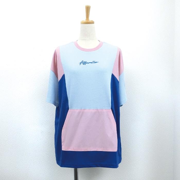 【2018春夏新作】20/-天竺 アノラックTシャツ(ナイロンポケット)
