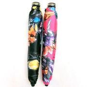 【日本製】【雨傘】【折りたたみ傘】つやつやサテン花柄転写プリント日本製軽量コンパクト折傘