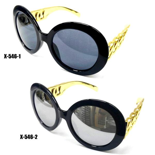 【新製品】セルフレームサングラス(UVカット)X-546