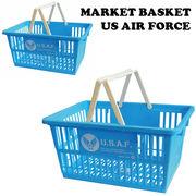 マーケット バスケット US AIR FORCE 【2サイズ】