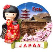 お土産JAPANマグネット なっちゃん金閣寺 《外国人観光客向け日本土産・京都土産》