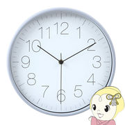 【メーカー直送】不二貿易 掛時計 リアム 直径30cm グレー FUJI-99050