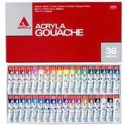 ホルベイン アクリラガッシュ 36色セット D418 20ml(6号)
