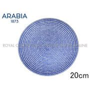 Y) 【アラビア】 008284  24hアベック プレート 20cm 皿 食器 ブルー