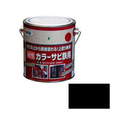 アサヒペン カラーサビ鉄用 0.7L 黒×5セット