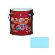 アサヒペン 油性スーパーコート 0.7L 水色×5セット