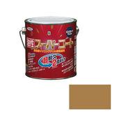 アサヒペン 油性スーパーコート 0.7L ソフトオーカー×5セット