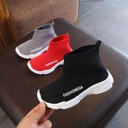 【子供靴】ニット靴 スニーカー シューズ 秋 キッズ靴 ブーツ カジュアル系 女の子 男の子