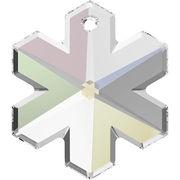 スワロフスキー(R)クリスタル 雪の結晶型 ペンダントトップ 25mm