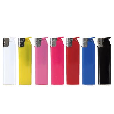 【名入れ可能】テキサスカラー 半スライド式電子ライター