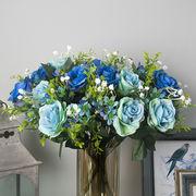 造花 薔薇 バラの花束 室内飾り  結婚式用品 本物そっくり シルクフラワー 就職祝い 誕生日プレゼント