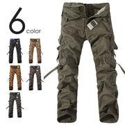 カーゴパンツ 8ポケット ミリタリーパンツ ZSY TYPE 018 メンズ レディース 迷彩パンツ ワークパンツ