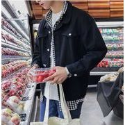 秋冬新作メンズジャケット コート トップス おしゃれ シンプル♪ブラック/レッド2色