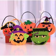 新作★ハロウィン雑貨 装飾 バッグ 南瓜 カボチャ パンプキン ハンドルバッグ カワイイ