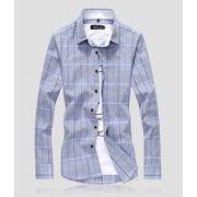 秋冬新作メンズワイシャツ トップス大きいサイズ おしゃれ キレイ目 通勤通学♪全5色