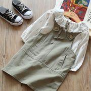 セットアップ 秋 子供服 女の子 2点セット tシャツ+ワンピース カジュアル系