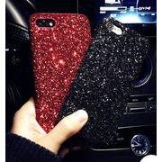 5カラー キラキラ グリッター ハード iPhoneケース