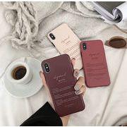 iphoneXsMAX X XR Xs 8plus 7 6s 6plus 英字 デザイン ケースiphone11promax