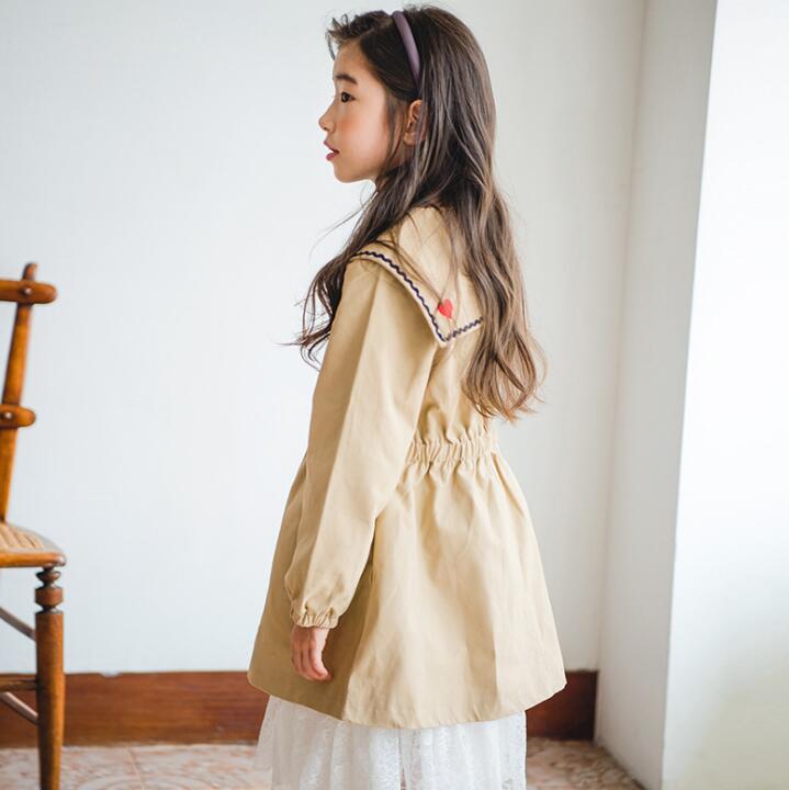2ff557a1a399f キッズジャケット 120-160 普段着 長袖 子供コート 日常用 女の子 ...