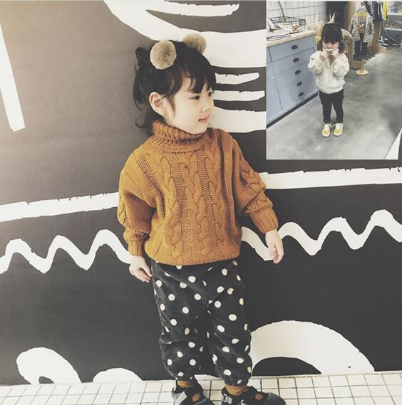 秋 セーター 男女兼用 キッズ ニット トップス 子供 シンプル カジュアル パイナップル