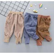 子供パンツ ズボン 3色 秋新作 キッズ 女の子 男の子 ボトムス 80-110 ロング