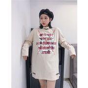 秋冬新商品730011 大きいサイズ 韓国 レディース ファッション ワンピース