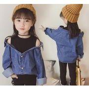 ★夏新作★子供服 タンクトップス デニムシャツ Tシャツ