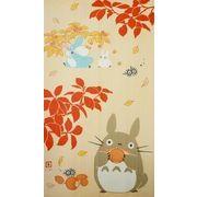 のれん   150cm丈 ジブリ となりのトトロ「実りの秋」【日本製】 コスモ 目隠し
