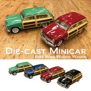 【1949 Ford Woody Wagon 1/40(M)】ダイキャストミニカー12台セット★