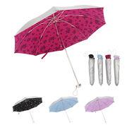 【60cm】日傘 折りたたみ 晴雨兼用 UVカット率/遮光率99%以上 レディース  春夏新作