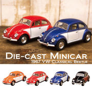 【1967 VW Classical Beetle (Color door) 1:32(M)】ダイキャストミニカー12台セット★
