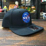 NASA公認 OTTO(オットー)スナップバックキャップ・ウールブレンド・インサイニア(ミートボール)