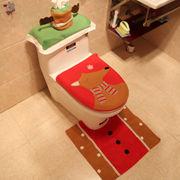 クリスマス イベント 行事 グッズ アイテム 装飾 飾り付け デコレーション トイレカバーセット