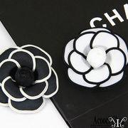 定形外773466】ハンドメイド パーツ 布造花 ハーバリウム カメリア 椿の花 バラ 薔薇 camelliaフラワー