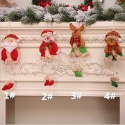 新品 クリスマス用品 クリスマスツリーのストラップ 老人の雪だるま シーン扮装