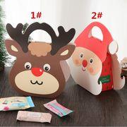 クリスマス 平安果 ギフト・カラーケース 平安夜 プレゼント包装 サンタクロース ハンドバッグ