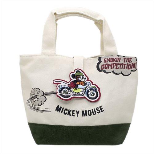 【ランチトート】ミッキーマウス/ワッペントート