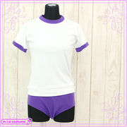 1232C■MB■送料無料■ ワン・ツー体操 色:紫 サイズ:M/BIG