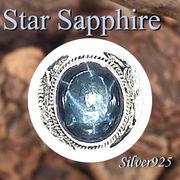 大きいサイズ / 09-30-10  ◆ Silver925 シルバー 虎&ライオン リング スター サファイア 19号
