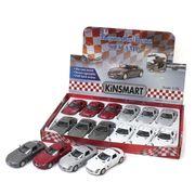 <ミニカー>KiNSMART ミニカー 1:36 メルセデスベンツ SLS AMG 4色アソート No.201-666