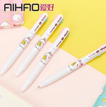 ★MOLANG 文具★2色ボールペン★ペン★ボールペン★