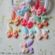 ハンドメイド 樹脂素材 ウサギの耳 アクセサリーパーツ