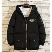 秋冬新作メンズコート トップス防寒 大きいサイズ♪ブラック/グレー2色