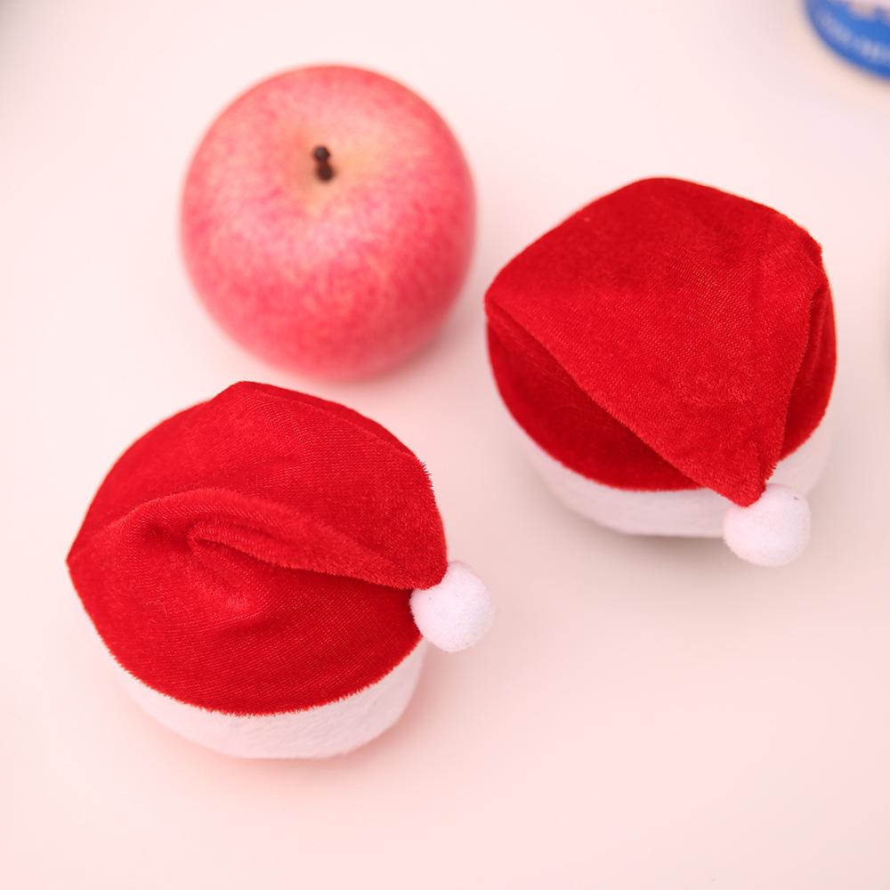 新品セールハロウィンコスプレ クリスマス サンタ帽子 リンゴキャップ