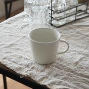 小田陶器 MINORe(みのり) マグカップL(手付き) クリーム[美濃焼]