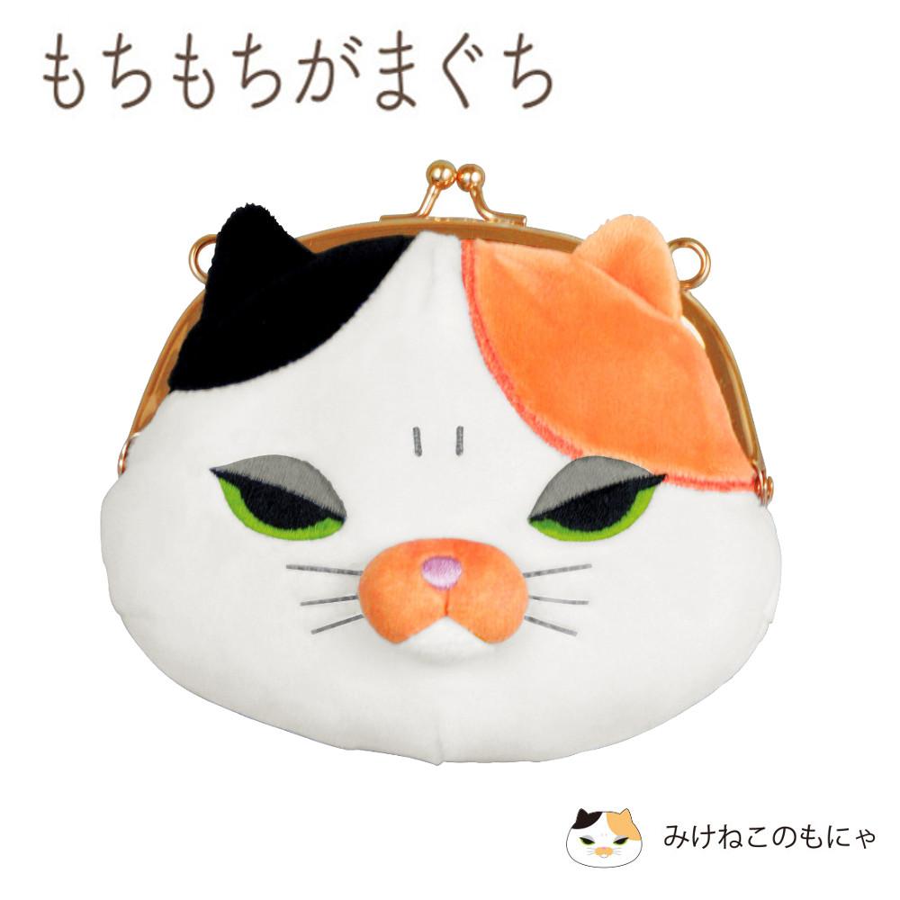 もちもちがまくち(三毛猫)