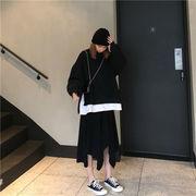韓国ファッション  CHIC気質  ゆったりする  スウェットシャツ